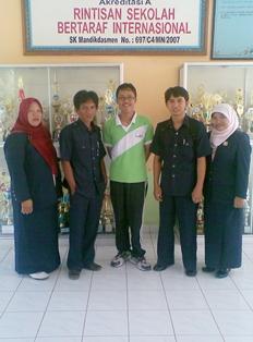 Tim PAS SMAN 1 Muara Enim Berkunjung ke SMA Negeri 4 Lahat