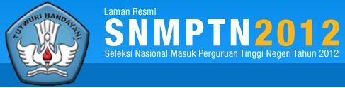 Daftar Siswa Diterima SNMPTN Jalur Undangan Tahun 2012