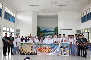 Sosialisasi Education Expo 2012 dari Ikatan Bujang Gadis Kampus Sumatera Selatan