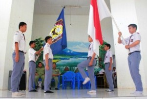 Sertijab OSIS SMA Negeri 4 Lahat Periode 2012-2013