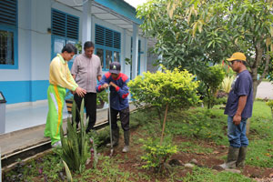 Sosialisasi Pembuatan Biofori dari Badan Lingkungan Hidup Kabupaten Lahat