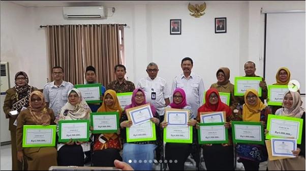 Juara II Lomba Wajah Bahasa Tingkat Provinsi Sumatera Selatan