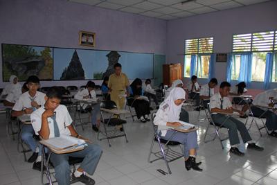 SMA Negeri 4 Lahat Kembali Menjadi Tuan Rumah OSN Tingkat Kabupaten Tahun 2012