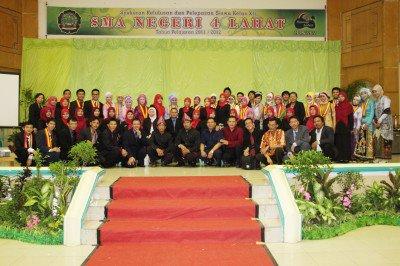 Acara Syukuran Kelulusan & Pelepasan Siswa Kelas XII SMA Negeri 4 Lahat TP 2011/2012