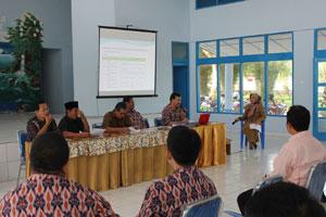 Rapat Persiapan Ujian Nasional Tahun 2013 Sub Rayon 04 Kabupaten Lahat