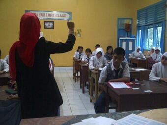 Tes Tertulis PPDB SMA Unggul Negeri 4 Lahat TP 2014/2015