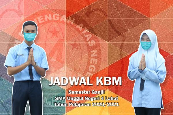 Jadwal KBM Semester Ganjil Tahun Pelajaran 2020-2021