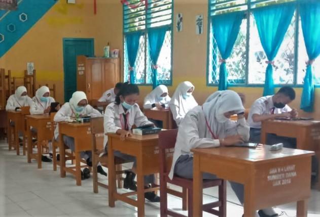 Pelaksanaan Ujian Satuan Pendidikan (USP) Tahun Pelajaran 2020-2021